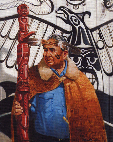 Portrait of Chief Robert Martin
