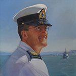 Portrait of CPO Mike Howlett