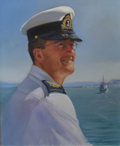 Portrait of CPO Michael Howlett