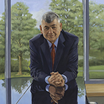 Thumbnail of portrait of Head of School Clive Austin