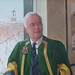 Thumbnail of portrait of President Rod Fraser