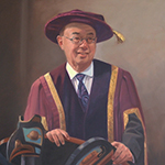 Thumbnail of portrait of Chancellor Ron Lou Poy