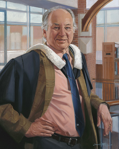 Portrait of Headmaster Bob Snowden