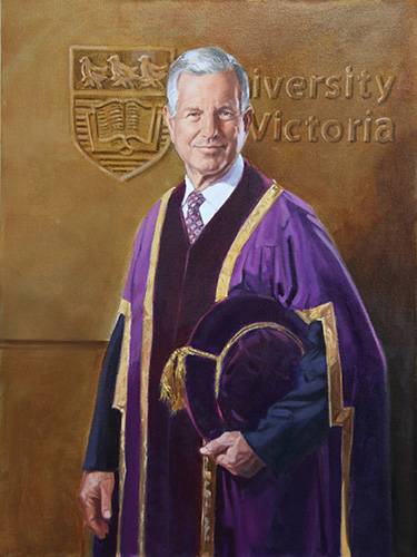 Portrait of Chancellor Murray Farmer