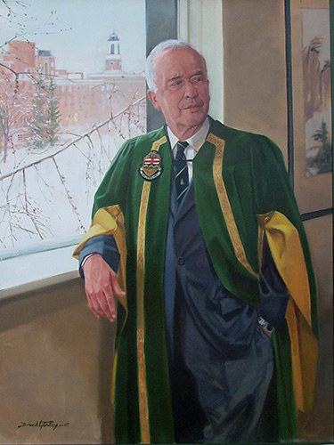 Portrait of President Rod Frazer