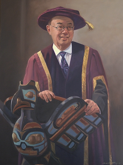 Portrait of Chancellor Ron Lou-Poy