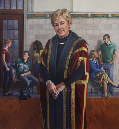 Portrait of Chancellor Vera Pezer
