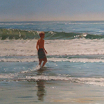 Thumbnail of a boy in the surf